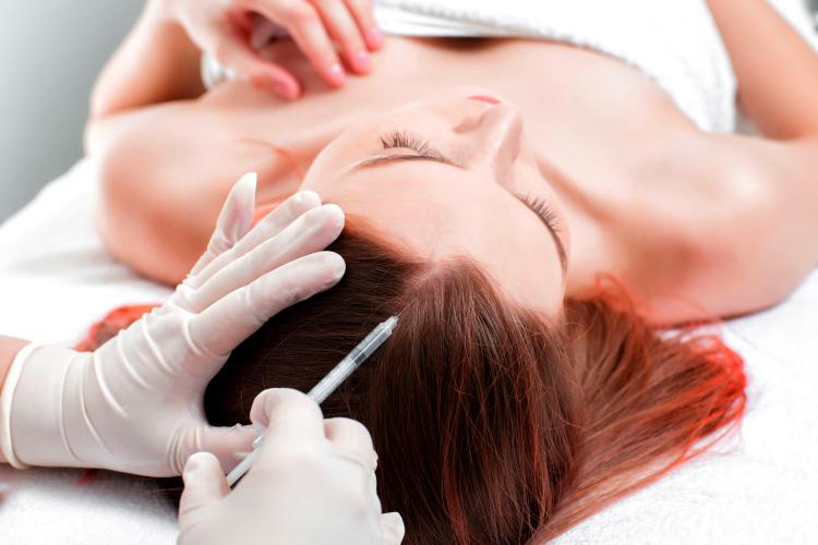 Плазмотерапия (PRP) волос